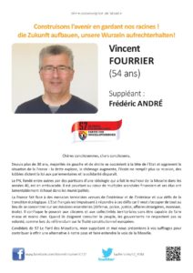 Profession de foi page 1 6e circo Moselle Vincent Fourrier