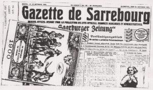 Gazette de Sarrebourg