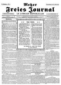 Histoire Républicain Lorrain