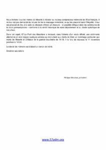 Lettre ouverte aux maires et conseillers municipaux mosellans page 2