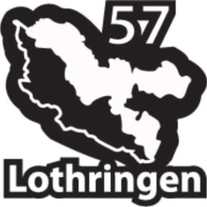 autocollant Lothringen